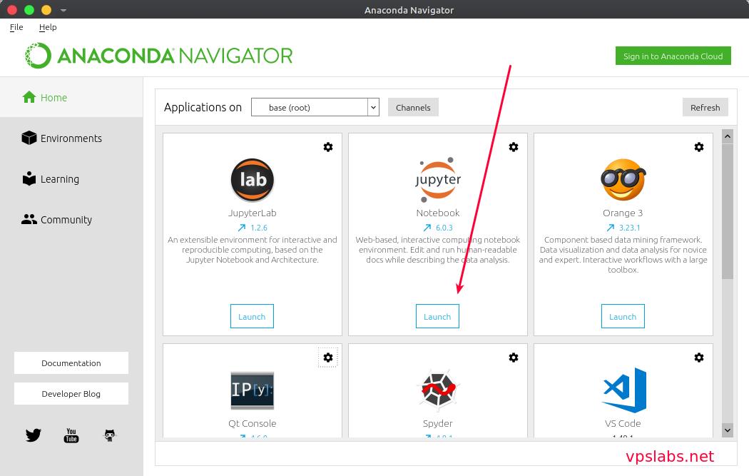 Cara Install Jupyter Notebook Anaconda Navigator