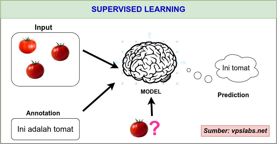 Cara Kerja Supervised Learning